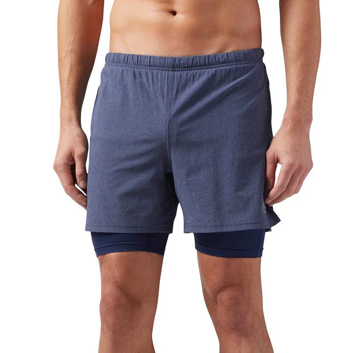 mejor autentico una gran variedad de modelos excepcional gama de estilos y colores Pantaloneta de hombre para correr reebok 2-1 short