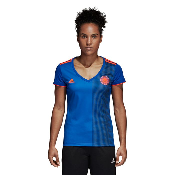 6371b1835e9cb camiseta sel. colombia away de mujer para futbol adidas fcf a jsy w  Prochampions