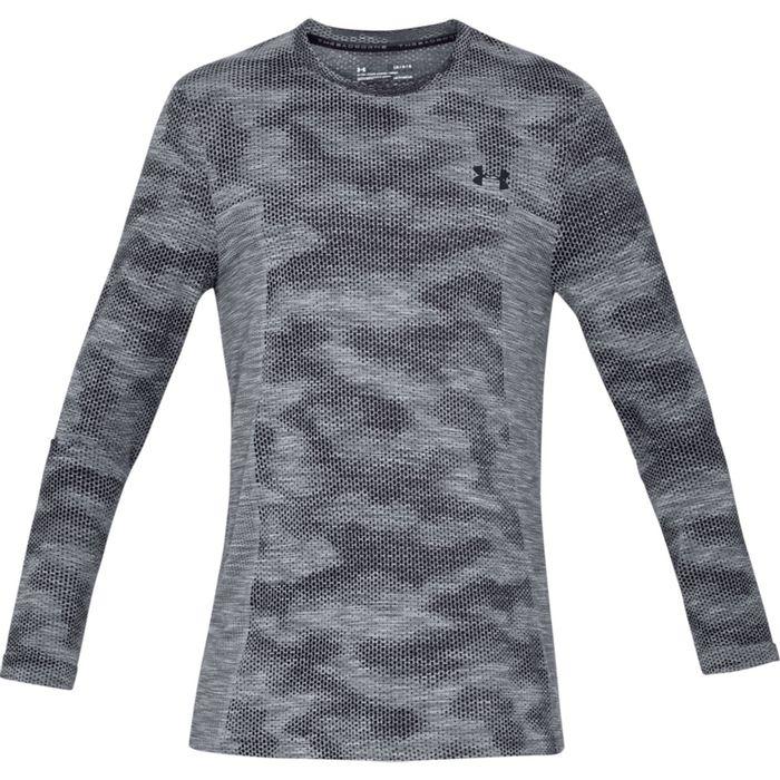 camiseta manga larga de hombre para entrenamiento under armour vanish  seamless ls camo nov Prochampions f754e3e143b