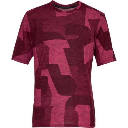 camiseta manga corta de hombre para entrenamiento under armour ua siro  print ss 73b7f8214ac95