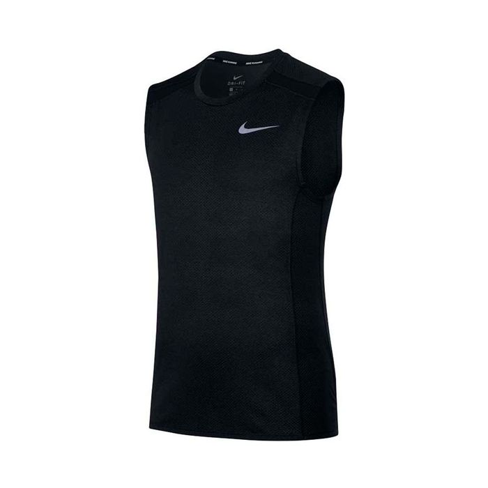 23e142cbe24c2 camiseta manga sisa de hombre para correr nike m nk cool miler top slv  Prochampions