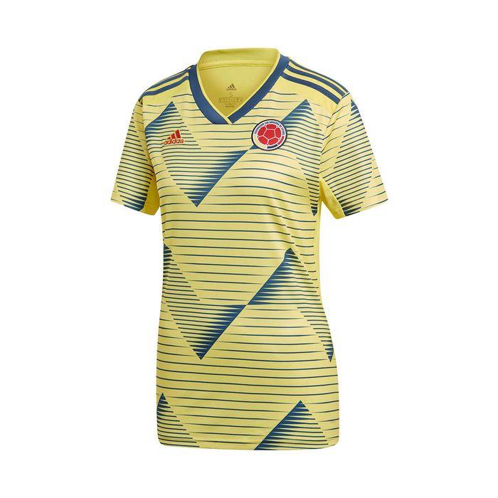Camiseta de local selección colombia mujer adidas fcf h jsy w
