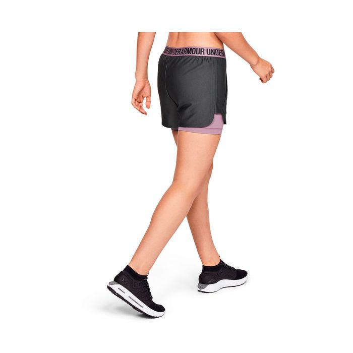 da589557abb Pantaloneta de mujer para entrenamiento under armour play up short 2-in-1  Prochampions