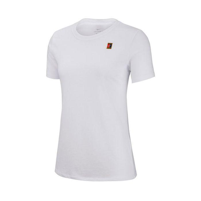 variedad de estilos de 2019 valor por dinero clientes primero Camiseta de mujer para tenis nike w nkct tee heritage