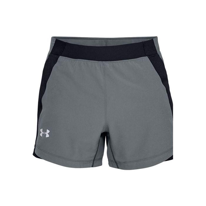 Precio 50% descuento especial retro Pantaloneta de hombre para correr under armour ua speedpocket qualifier 5  short
