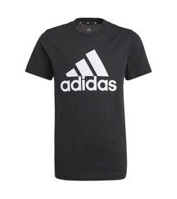 Camiseta-Manga-Corta-adidas-para-niño-B-Bl-T-para-moda-color-negro.-Frente-Sin-Modelo