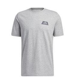 Camiseta-Manga-Corta-adidas-para-hombre-Repeat-Tee-para-entrenamiento-color-gris.-Frente-Sin-Modelo
