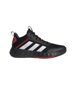 Tenis-adidas-para-hombre-Ownthegame-2.0-para-baloncesto-color-negro.-Lateral-Externa-Derecha