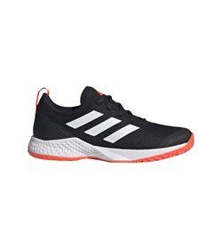 Tenis-adidas-para-hombre-Court-Control-M-para-tenis-color-negro.-Lateral-Externa-Derecha