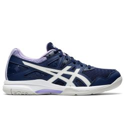 Tenis-asics-para-mujer-Gel-Task-2-para-indoor-color-azul.-Lateral-Externa-Derecha