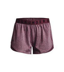 Pantaloneta-under-armour-para-mujer-Play-Up-Twist-Shorts-3.0-para-entrenamiento-color-verde.-Frente-Sin-Modelo