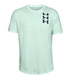 Camiseta-Manga-Corta-under-armour-para-hombre-Novelty-Ss-Tee-1-para-entrenamiento-color-azul.-Frente-Sin-Modelo