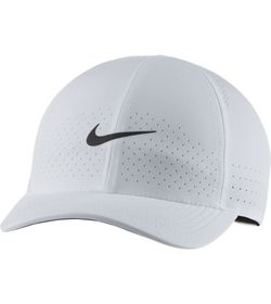 Gorra-nike-para-hombre-U-Nikecourt-Advantage-Cap-para-tenis-color-blanco.-Principal-Balon