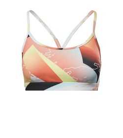 Top-reebok-para-mujer-Skinny-Bra---Retro-Vector-para-entrenamiento-color-naranja.-Frente-Sin-Modelo