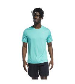 Camiseta-Manga-Corta-reebok-para-hombre-Re-Basic-Ss-Tee-para-correr-color-multicolor.-Frente-Sobre-Modelo
