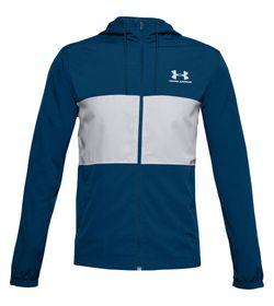 Chaqueta-under-armour-para-hombre-Sportstyle-Wind-Jacket-para-entrenamiento-color-azul.-Frente-Sin-Modelo