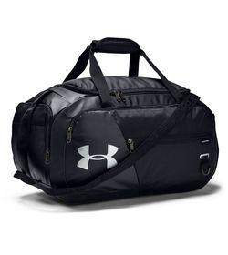 Maletin-under-armour-unisex-Ua-Undeniable-4.0-Duffle-Sm-para-entrenamiento-color-negro.-Frente-Sin-Modelo