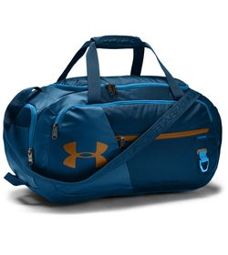 Maletin-under-armour-unisex-Ua-Undeniable-4.0-Duffle-Sm-para-entrenamiento-color-azul.-Frente-Sin-Modelo