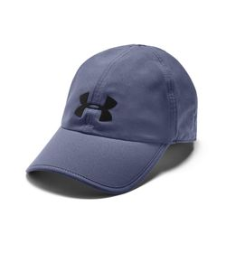 Gorra-under-armour-unisex-Ua-Run-Shadow-Cap-para-correr-color-azul.-Frente-Sin-Modelo