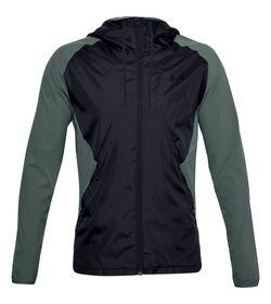 Chaqueta-under-armour-para-hombre-Stretch-Woven-Hooded-Jacket-para-entrenamiento-color-azul.-Frente-Sin-Modelo
