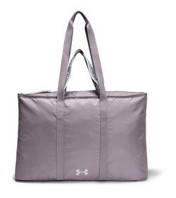 Maletin-under-armour-para-mujer-Ua-Favorite-2.0-Totel-para-entrenamiento-color-morado.-Frente-Sin-Modelo