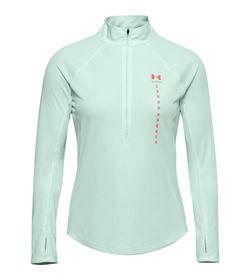 Buzo-under-armour-para-mujer-Ua-Speed-Stride-Attitude-Hz-para-correr-color-azul.-Frente-Sin-Modelo