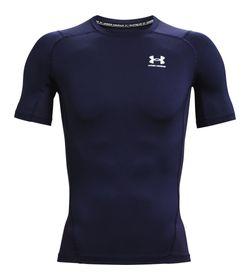 Camiseta-De-Compresion-under-armour-para-hombre-Ua-Hg-Armour-Comp-Ss-para-entrenamiento-color-azul.-Frente-Sin-Modelo