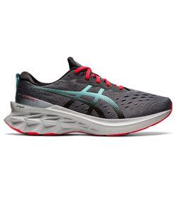 Tenis-asics-para-hombre-Novablast-2-para-correr-color-gris.-Lateral-Externa-Derecha