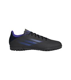 Guayos-adidas-para-hombre-X-Speedflow.4-Tf-para-futbol-color-negro.-Lateral-Externa-Derecha