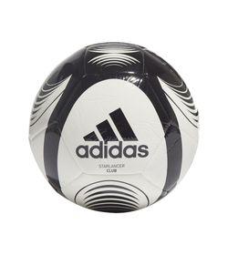 Balon-adidas-para-hombre-Starlancer-Clb-para-futbol-color-blanco.-Frente-Sin-Modelo
