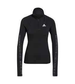 Camiseta-Manga-Larga-adidas-para-mujer-W-Mt-Hz-Ls-para-entrenamiento-color-negro.-Frente-Sin-Modelo
