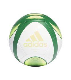 Balon-adidas-para-hombre-Starlancer-Plus-para-futbol-color-blanco.-Frente-Sin-Modelo