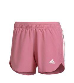 Pantaloneta-adidas-para-mujer-Run-It-Short-W-para-correr-color-rosado.-Frente-Sin-Modelo