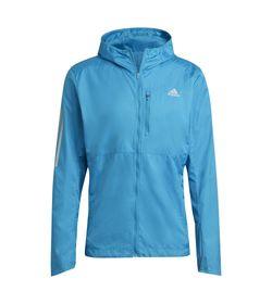 Chaqueta-adidas-para-hombre-Own-The-Run-Jkt-para-correr-color-azul.-Frente-Sin-Modelo