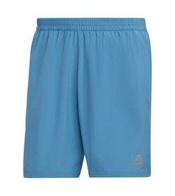 Pantaloneta-adidas-para-hombre-Run-It-Short-para-correr-color-azul.-Frente-Sin-Modelo
