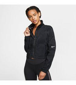 Chaqueta-nike-para-mujer-W-Nk-Jkt-Ftr-Fem-para-correr-color-negro.-Frente-Sobre-Modelo