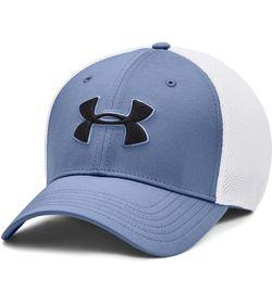 Gorra-under-armour-para-hombre-Ua-Classic-Mesh-Cap-para-golf-color-azul.-Frente-Sin-Modelo