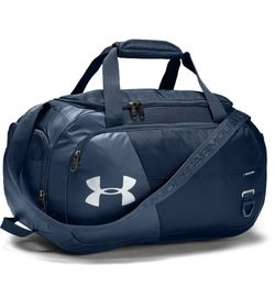 Maletin-under-armour-unisex-Ua-Undeniable-4.0-Duffle-Xs-para-entrenamiento-color-azul.-Frente-Sin-Modelo