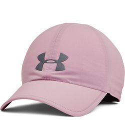 Gorra-under-armour-unisex-Ua-Run-Shadow-Cap-para-correr-color-rosado.-Frente-Sin-Modelo