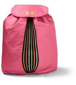 Gym-Sack-under-armour-unisex-Ua-Color-Reveal-Sackpack-para-entrenamiento-color-rosado.-Frente-Sin-Modelo