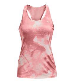 Camiseta-Manga-Sisa-under-armour-para-mujer-Ua-Hg-Armour-Racer-Print-para-entrenamiento-color-rosado.-Frente-Sin-Modelo