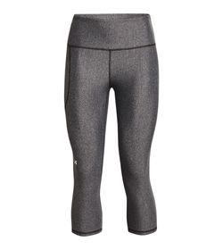 Capri-under-armour-para-mujer-Hg-Armour-Hi-Capri-para-entrenamiento-color-gris.-Frente-Sin-Modelo