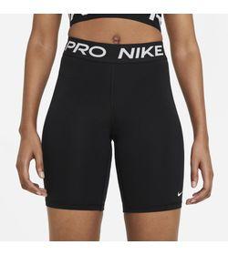 Pantaloneta-nike-para-mujer-W-Np-365-Short-8In-para-entrenamiento-color-blanco.-Frente-Sobre-Modelo