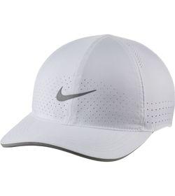 Gorra-nike-para-hombre-U-Nk-Dry-Arobill-Fthlt-Perf-para-correr-color-blanco.-Frente-Sin-Modelo