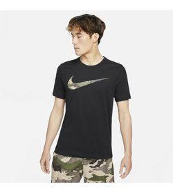Camiseta-Manga-Corta-nike-para-hombre-M-Nk-Df-Tee-Camo-Fill-Gfx-para-entrenamiento-color-negro.-Frente-Sobre-Modelo