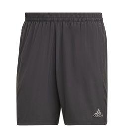 Pantaloneta-adidas-para-hombre-Run-It-Short-para-correr-color-gris.-Frente-Sin-Modelo