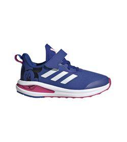 Tenis-adidas-para-niño-Fortarun-Mickey-El-C-para-entrenamiento-color-azul.-Lateral-Externa-Derecha