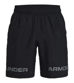 Pantaloneta-under-armour-para-hombre-Ua-Woven-Graphic-Wm-Short-para-entrenamiento-color-negro.-Frente-Sin-Modelo