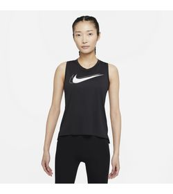 Camiseta-Manga-Sisa-nike-para-mujer-W-Nk-Df-Swsh-Run-Tank-para-correr-color-negro.-Frente-Sobre-Modelo
