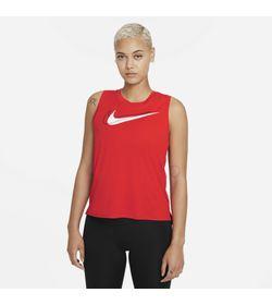 Camiseta-Manga-Sisa-nike-para-mujer-W-Nk-Df-Swsh-Run-Tank-para-correr-color-rojo.-Frente-Sobre-Modelo